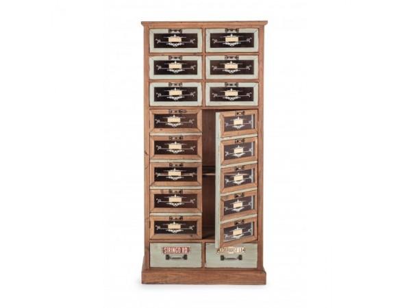 Μπουφές KOMPART με 2 πόρτες και 8 συρτάρια 67x32x142,5 εκ.