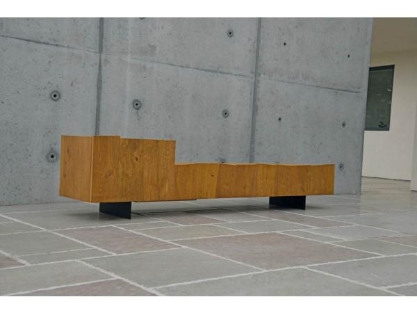 'Επιπλο τηλεόρασης Ξύλινο MODERN ROVERE CON 180x68x45 εκ.