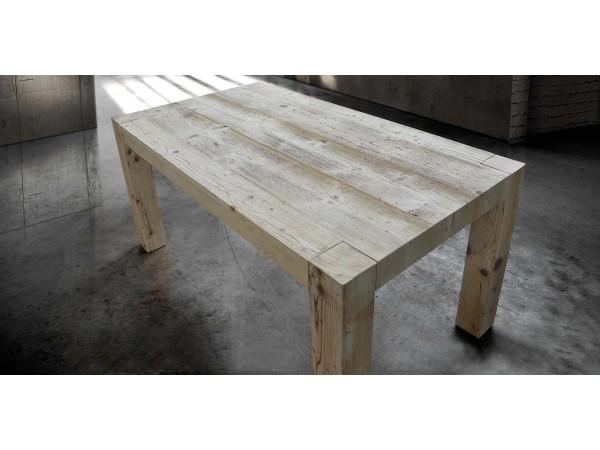 Τραπέζι Μασίφ Ξύλινο Επεκτεινόμενο Modern Wood με 4 εκ. πάχος 180x90 εκ.