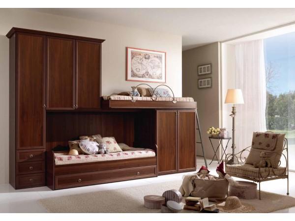 Παιδικό  Κλασικό Υπνοδωμάτιο Ninfea 004