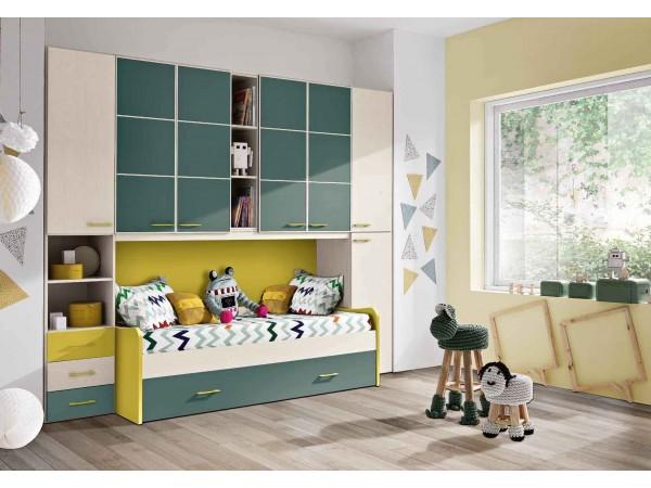 Παιδικό δωμάτιο Omnia 027