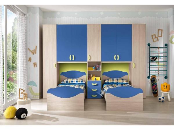 Παιδικό δωμάτιο Omnia 029
