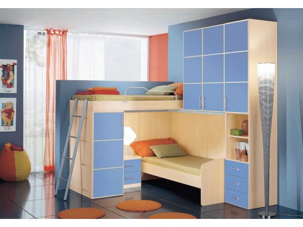 Παιδικό δωμάτιο Omnia 058