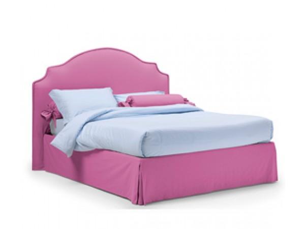 Κρεβάτι FIORDALISO με shabby chic σχεδιασμό με αφαιρούμενο κάλυμμα