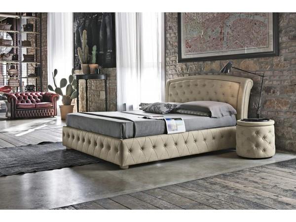 Κρεβάτι SICILIA ντυμένο