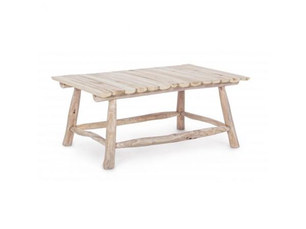 Τραπεζάκι σαλονιού SAHEL NATURAL από ξύλο teak 90x60x38 εκ.