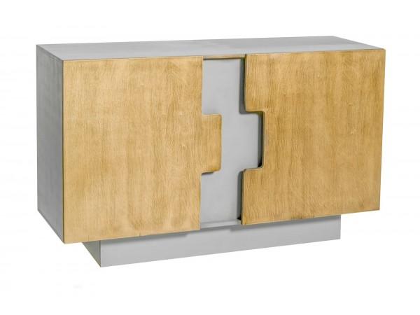 Μπουφές Ξύλινος Tinta Grigio με 2 πόρτες 120x44x64 εκ.