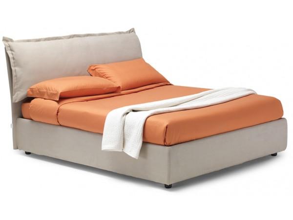 Κρεβάτι Vera Advance Voulant ντυμένο με αφαιρούμενο κάλυμμα
