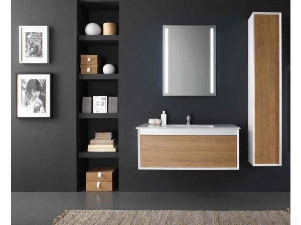 Έπιπλο Μπάνιου LAGO NOCCIOLA 100 σε δυο χρωματισμούς