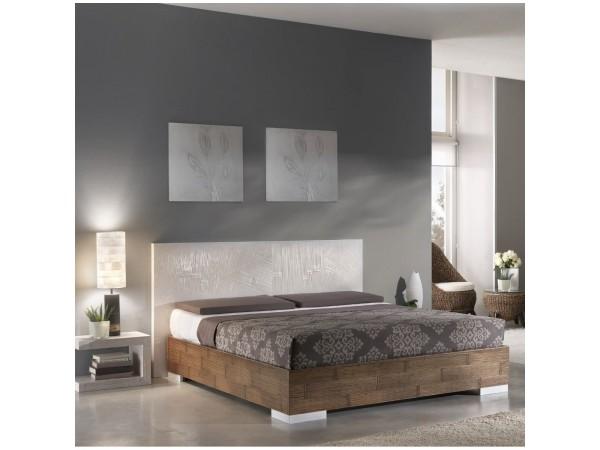 Κρεβάτι DUBAI από ξύλο bamboo σε honey χρωματισμό