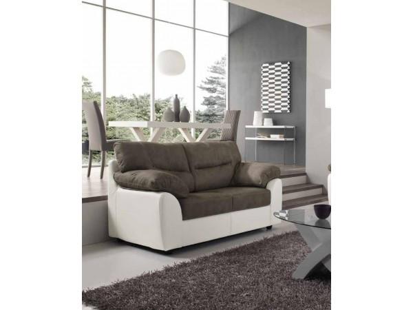 Καναπές κρεβάτι Διθέσιος ALBA με οικολογικό δέρμα 160x90x98 εκ.