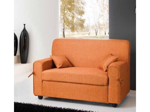 Καναπές mini LISA με ύφασμα 125x75x83 εκ.