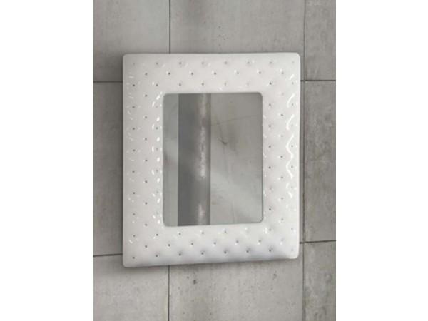 Καθρέφτης modern style white 92x100 εκ.
