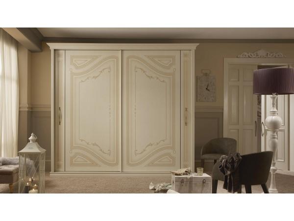 Ντουλάπα Liberty με 2 συρόμενες πόρτες Classical Collection 288,1x68,8x252,2 εκ.