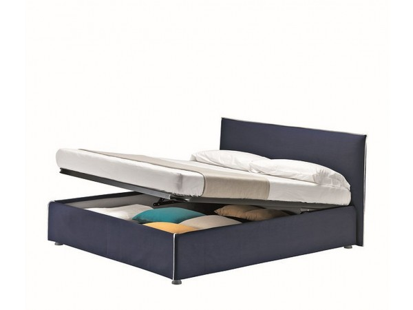 Κρεβάτι ντυμένο με αφαιρούμενο κάλυμμα Me