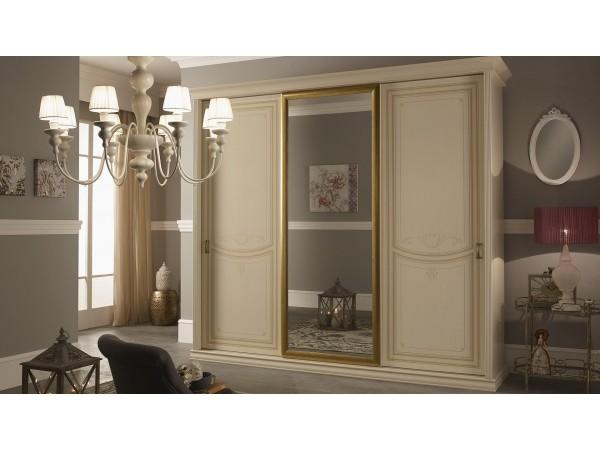 Ντουλάπα PRIMULA με 3 πόρτες και καθρέπτη 288,1x68,8x252,2 εκ.