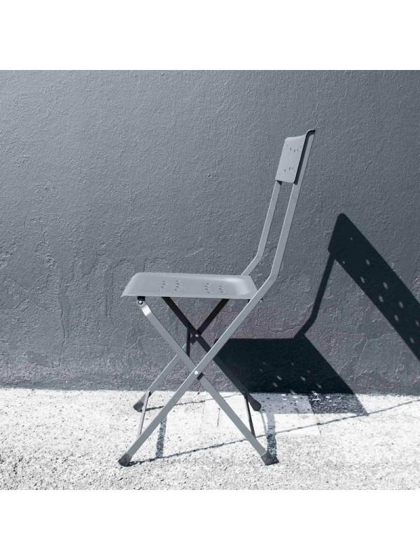 Καρέκλα σταστή σιδερένια NOIR με διάφορους χρωματισμούς 38x37.5x88 εκ.