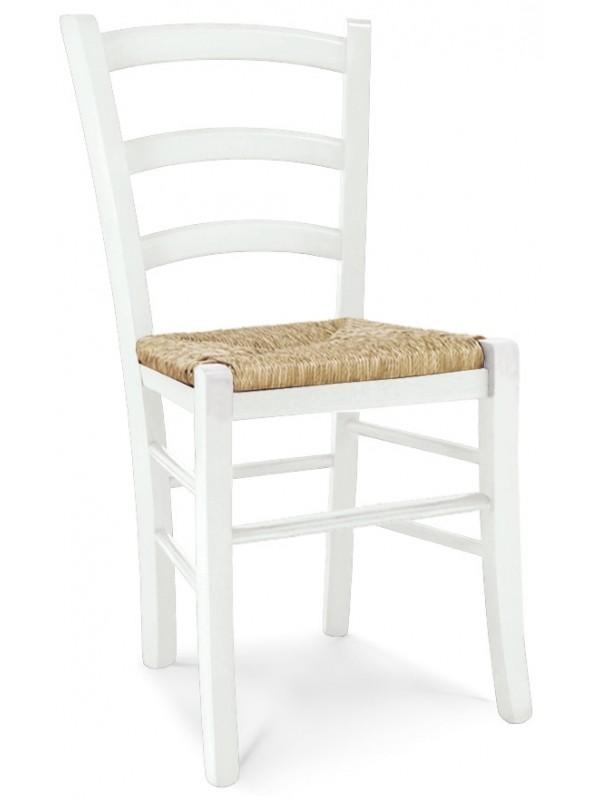 Καρέκλα Venezia White Paglia
